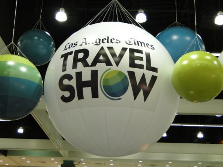 Los Angeles Times Travel Show 2012