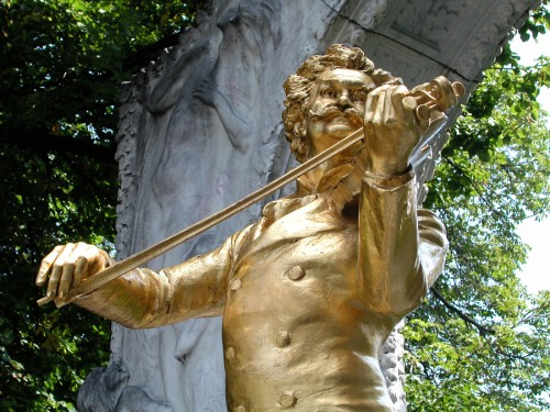 bigstockphoto_Johann_Strauss_Monument_In_The_3312066