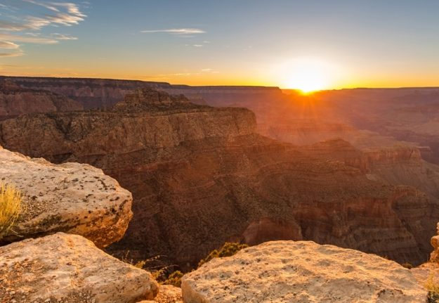 Grand Canyon National Park is the United States' 15th oldest national park. Named a UNESCO World Heritage Site in 1979, the park is located in Arizona. ** Note: Visible grain at 100%, best at smaller sizes