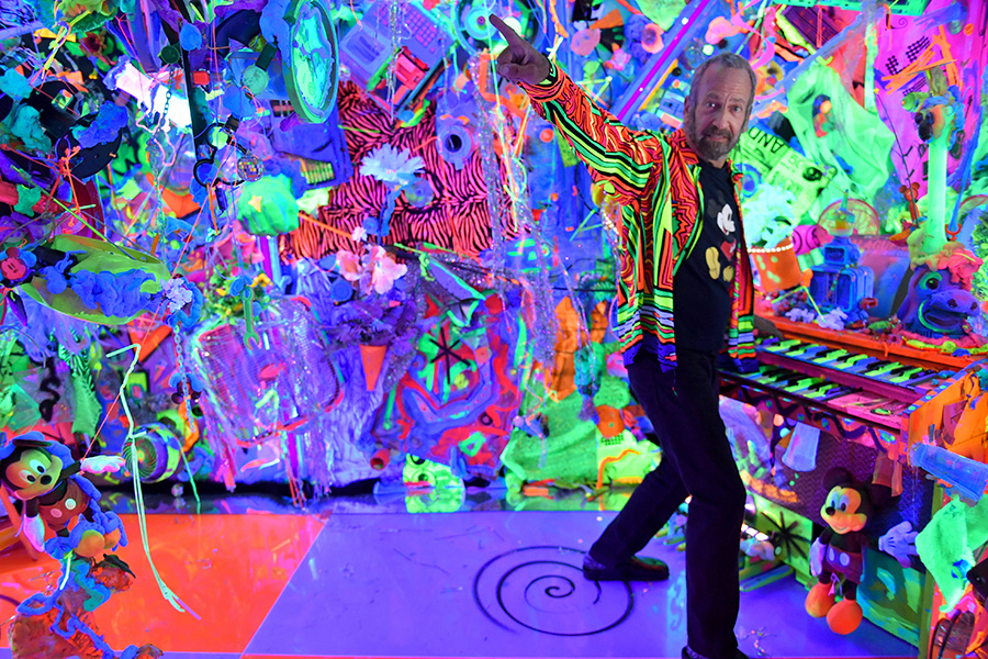 Kenny Scharf Photo by Michael Loccisano/Getty Images for Disney